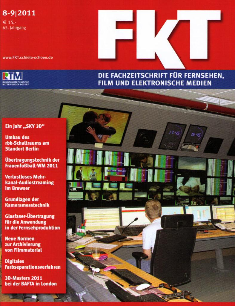 FKT Fachzeitschrift Fernsehen Film elektronische Medien