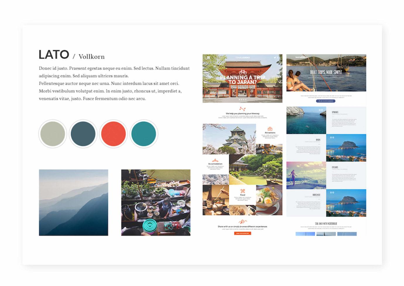 Webdesign / Moodboard von Zuelfikar Karabulut