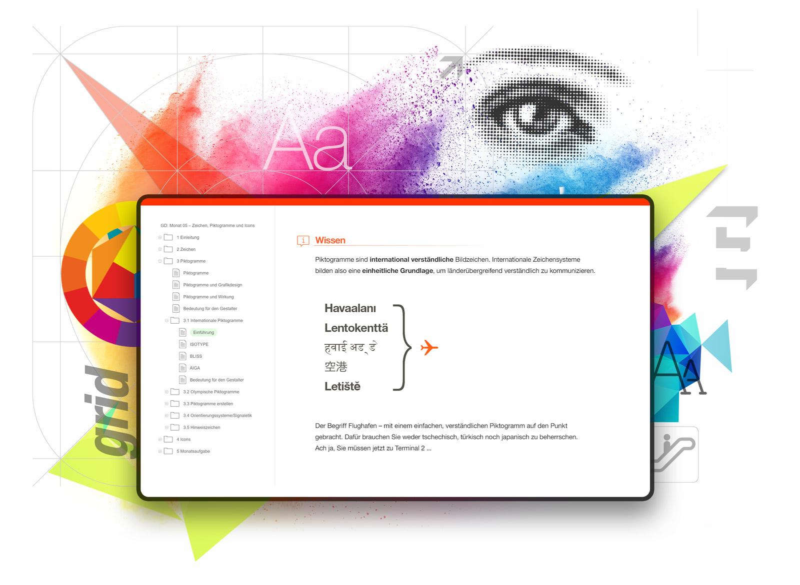 OfG Online-Schule für Gestaltung; eLearning Plattform