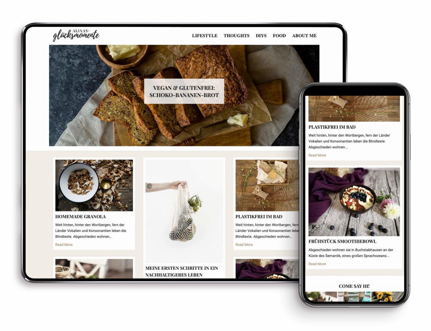 Responsive Webdesign von Alina Gabriel