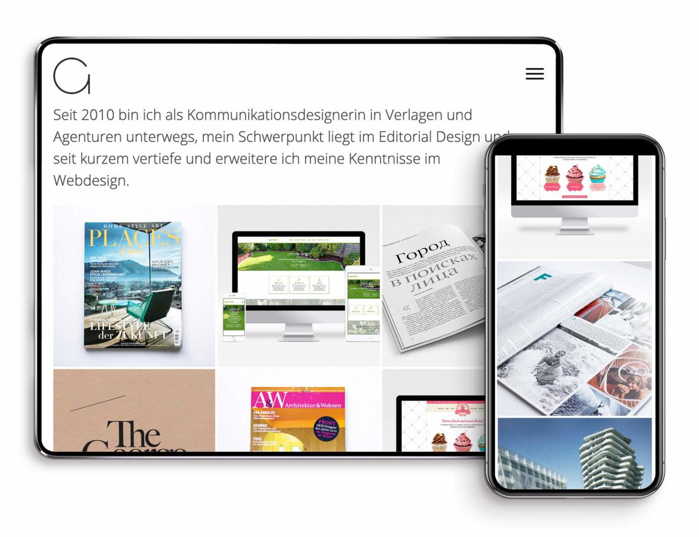 Responsive Webdesign von Anna Gross