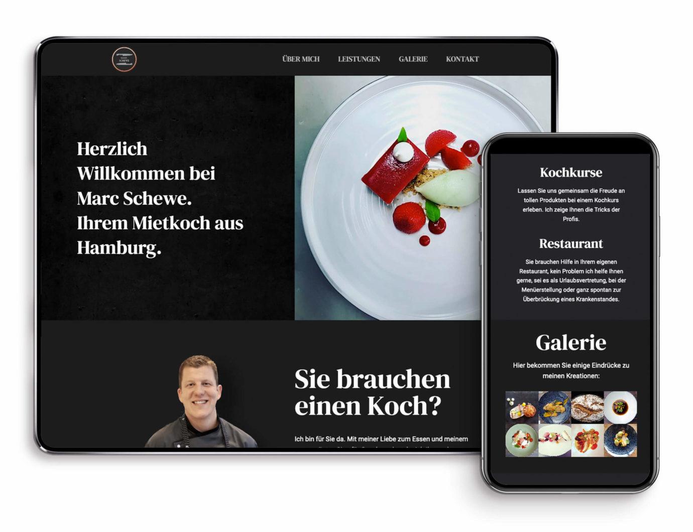 Responsive Webdesign von Carolin Freudenthal