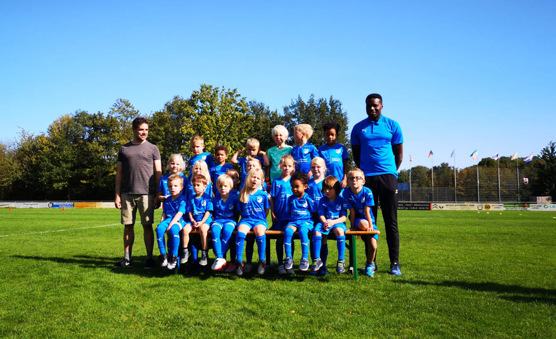 OfG Trikot-Sponsoring; Kindermannschaft Fussball Lippstadt